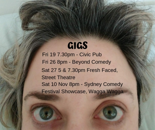 Gigs October